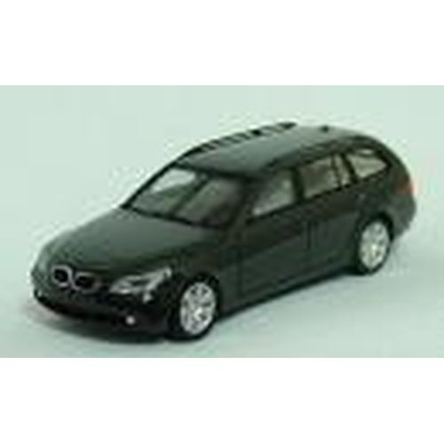HE023269-1 BMW 5-Series Touring (ブラック) 1/87 L 5.5cm 4ドア