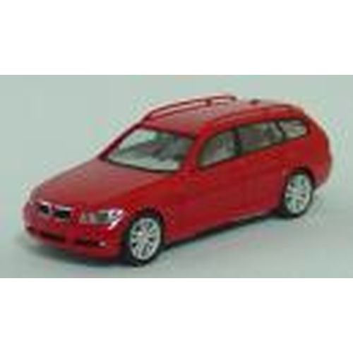 HE023429 BMW 3-Series Touring (レッド) 1/87 L 5.1cm 4ドア